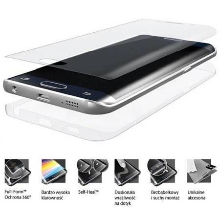 3MK Folia ARC 3D Fullscreen Sam G970 S10e, Plus, HG, przód, tył, boki