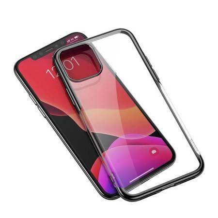 Baseus Shining Case żelowe etui pokrowiec na iPhone 11 czarny (ARAPIPH61S-MD01)