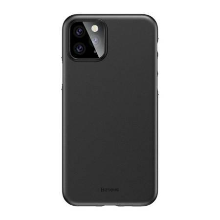 Baseus Wing Case ultracienkie etui pokrowiec iPhone 11 Pro czarny (WIAPIPH58S-A01)