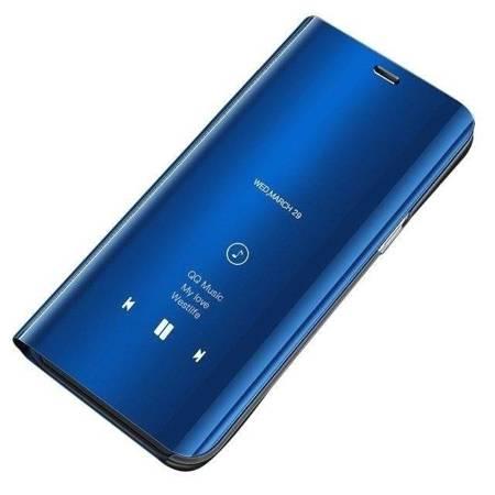 Clear View Case futerał etui z klapką Xiaomi Redmi 7A niebieski