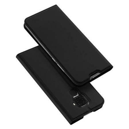 DUX DUCIS Skin Pro kabura etui pokrowiec z klapką Huawei Mate 30 Lite czarny