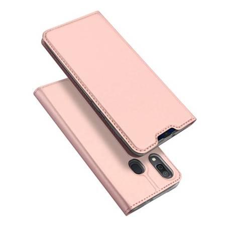 DUX DUCIS Skin Pro kabura etui pokrowiec z klapką Samsung Galaxy A20e różowy