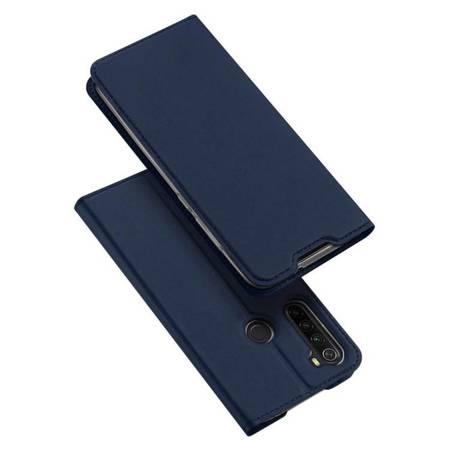 DUX DUCIS Skin Pro kabura etui pokrowiec z klapką Xiaomi Redmi Note 8 niebieski