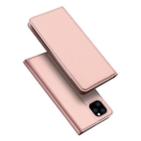 DUX DUCIS Skin Pro kabura etui pokrowiec z klapką iPhone 11 Pro Max różowy