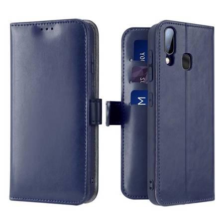 Dux Ducis Kado kabura etui portfel pokrowiec z klapką Samsung Galaxy A20e niebieski
