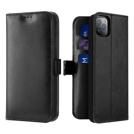 Dux Ducis Kado kabura etui portfel pokrowiec z klapką iPhone 11 Pro czarny