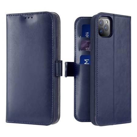 Dux Ducis Kado kabura etui portfel pokrowiec z klapką iPhone 11 Pro niebieski