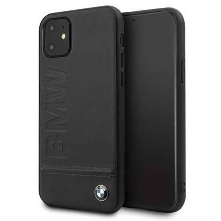 Etui hardcase BMW BMHCN61LLSB iPhone 11 czarny/black Signature