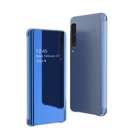 Flip View futerał etui z klapką Samsung Galaxy A70 niebieski
