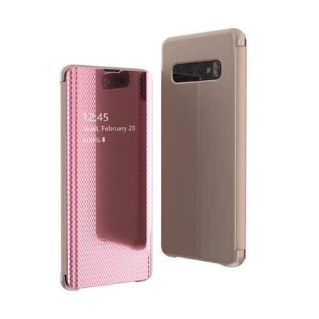 Flip View futerał etui z klapką Samsung Galaxy S10e różowy