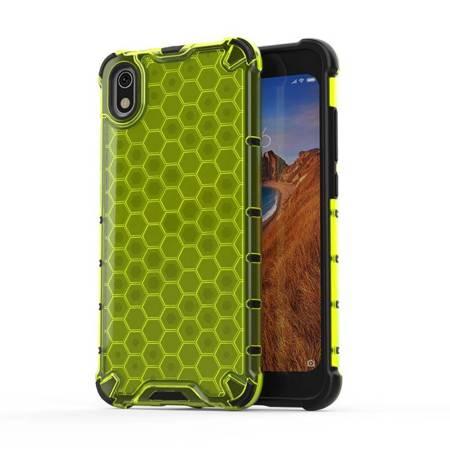 Honeycomb etui pancerny pokrowiec z żelową ramką Xiaomi Redmi 7A zielony
