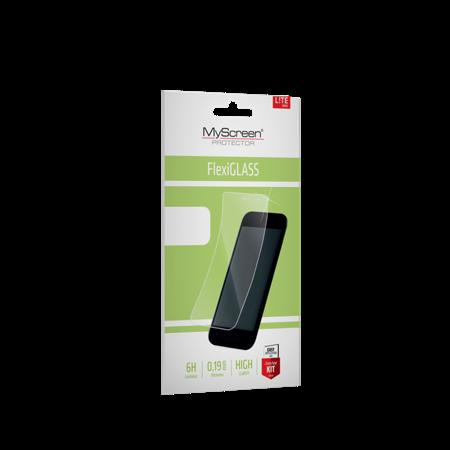 Kingxbar Marble Series eleganckie etui pokrowiec z nadrukiem marmur iPhone 11 Pro niebieski