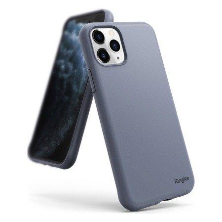 Ringke Air S ultracienkie żelowe etui pokrowiec iPhone 11 Pro niebieski (Lavender Gray) (ADAP0007)