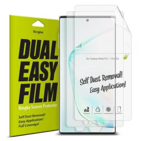 Ringke Dual Easy Film 2x łatwa w przyklejeniu folia Samsung Galaxy Note 10 Plus (ESSG0015)