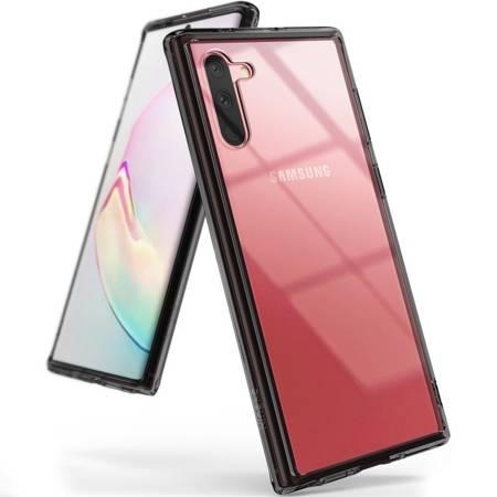 Ringke Fusion etui pokrowiec z żelową ramką Samsung Galaxy Note 10 czarny (FSSG0068)