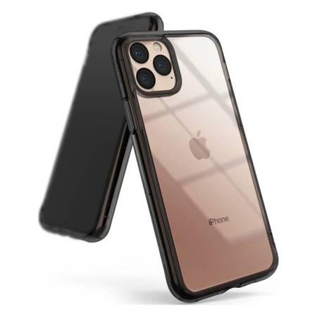 Ringke Fusion etui pokrowiec z żelową ramką iPhone 11 Pro szary (FSAP0039)