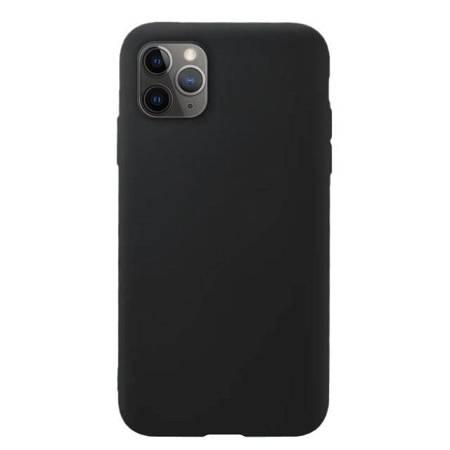 Silicone Case elastyczne silikonowe etui pokrowiec iPhone 11 Pro czarny