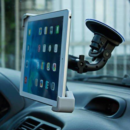 Uniwersalny uchwyt samochodowy na tablet (7-10 cali) do szyby czarny