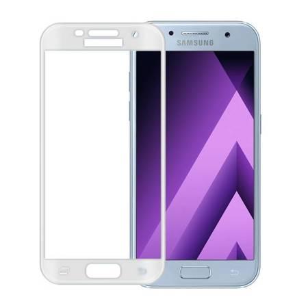 WOZINSKY szkło hartowane Samsung Galaxy A3 2017 A320 na cały ekran białe