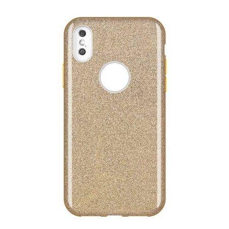 Wozinsky Glitter Case błyszczące etui pokrowiec z brokatem Huawei Mate 30 Lite złoty
