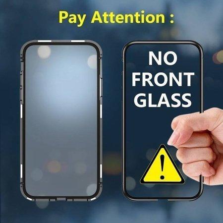 Wozinsky Magnetic Case magnetyczne etui 360 pokrowiec na całą obudowę przód + tył Samsung Galaxy A70 czarny