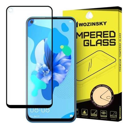 Wozinsky super wytrzymałe szkło hartowane Full Glue na cały ekran z ramką Case Friendly Huawei P20 Lite 2019 / Huawei Nova 5i czarny