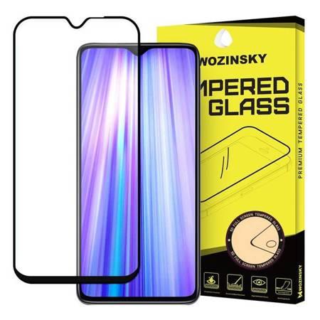 Wozinsky super wytrzymałe szkło hartowane Full Glue na cały ekran z ramką Case Friendly Xiaomi Redmi Note 8 Pro czarny