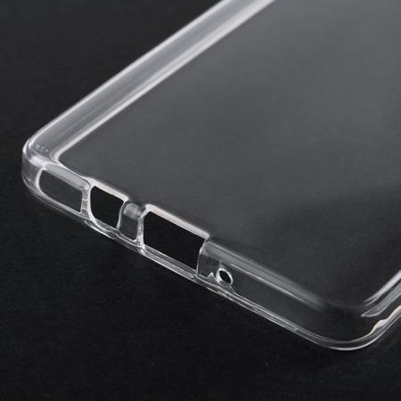 Żelowy pokrowiec etui Clear Gel 1.0mm LG K10 2017 przezroczyste
