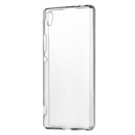 Żelowy pokrowiec etui Clear Gel 1.0mm Sony Xperia XA1 G3121 G3123 G3125 przezroczyste