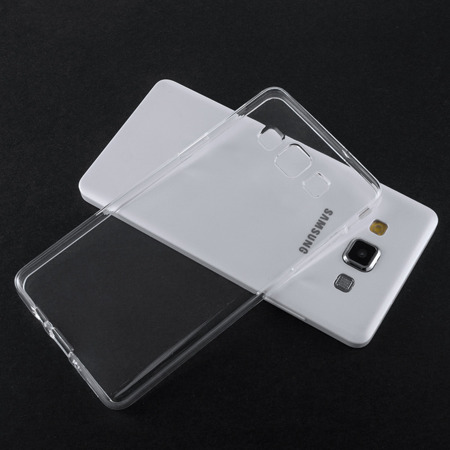 Żelowy pokrowiec etui Clear Gel 1.0mm iPhone SE 5S 5 przezroczyste