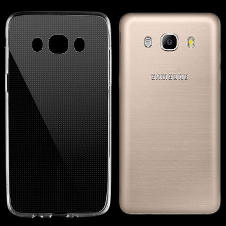 Żelowy pokrowiec etui Ultra Slim Samsung 0,3 mm Galaxy J5 2016 J510 przezroczysty
